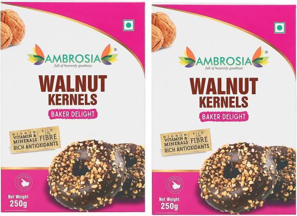 AMBROSIA Walnut Kernels BakerDelight 250g| Light Broken (6-8 pieces) Walnuts