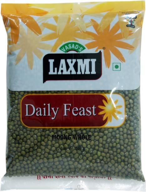 Laxmi Green Moong Dal (Whole)