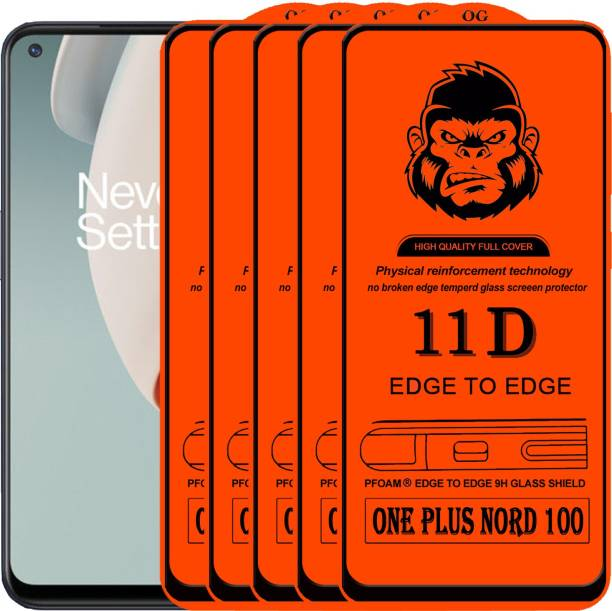 Xester Edge To Edge Tempered Glass for ONE PLUS NORD 100