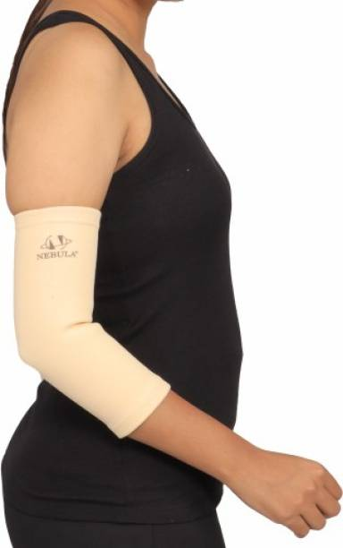 """NEBULA ORTHOSYS NEBULA Elastic 4 way tennis elbow band for pain relief 9"""" Elbow Support"""