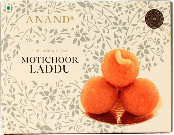 Anand Authentic Motichur Laddu Made in Pure Ghee Box