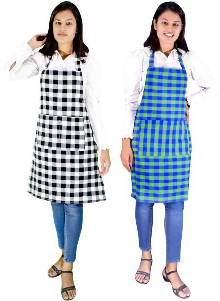 Chiloti Polyester Chef's Apron - Free Size