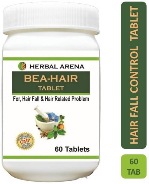 Herbal Arena BEA-HAIR Ayurvedic Tablet For Control Hair Fall And Hair Related Problem