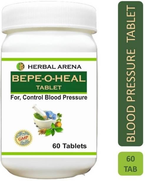 Herbal Arena BEPE-O-HEAL Ayurvedic Tablet for BP ( Blood Pressure ) Control