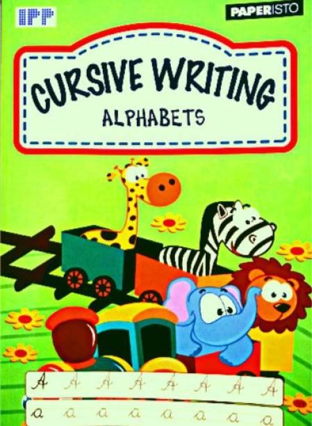 CURSIVE WRITING ALPHABETS BOOK FOR KIDS