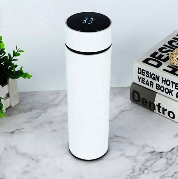 Vridhaan Decor Smart Intelligent Vacuum Insulated Water Bottle with LED Temperature Display 500 ml Flask