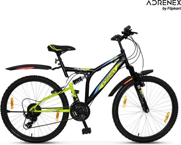 Adrenex by Flipkart Xplore XP 700 85% Assembled with Dual Suspension 26 T Mountain Cycle
