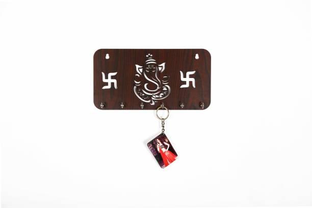 ShriRam Handicraft SRH_key_Ganesh_brwn Door Hanger