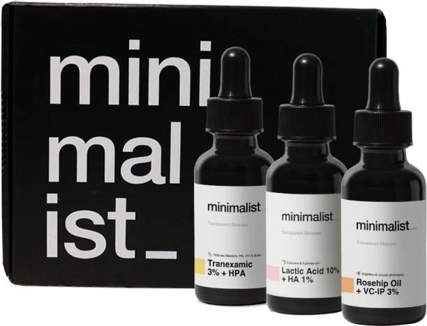 Minimalist Anti Pigmentation Advanced Kit for Melasma & Post Inflammatory Hyperpigmentation & Erythema (PIH /PIE)