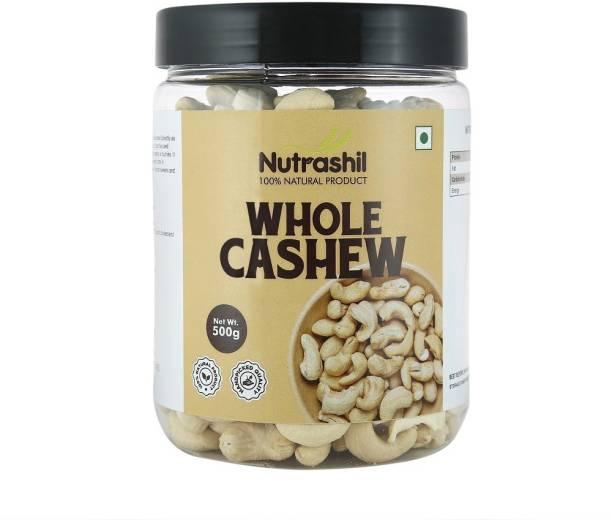 Nutrashil Whole Premium Cashew 500 G Cashews