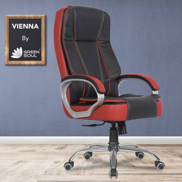 GREEN SOUL Vienna High Back Leatherette Office Executive Chair