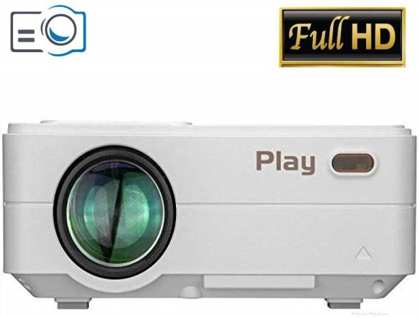 PLAY Portable 1080P High Definition WIFI Projector High Brightness (3000 lm / Remote Controller) Portable Projector