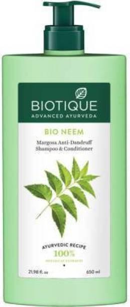 BIOTIQUE Bio Neem Margosa Anti Dandruff Shampoo
