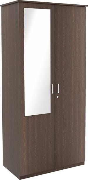 BLUEWUD Andrie Engineered Wood 2 Door Wardrobe