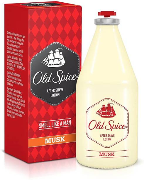 Old Spice Musk Atomizer After Shave Lotion
