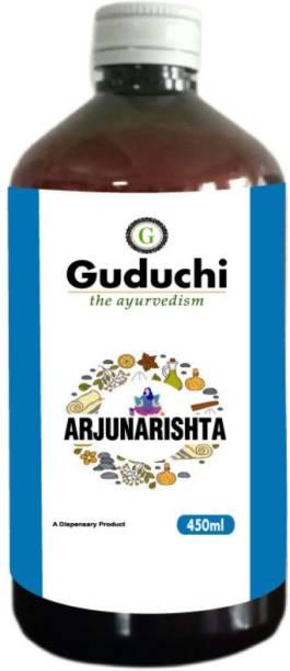 Guduchi - the ayurvedism Arjunarishta   Amazing Heart Tonic   Enriched with potent cardio protective properties   Pack of 2