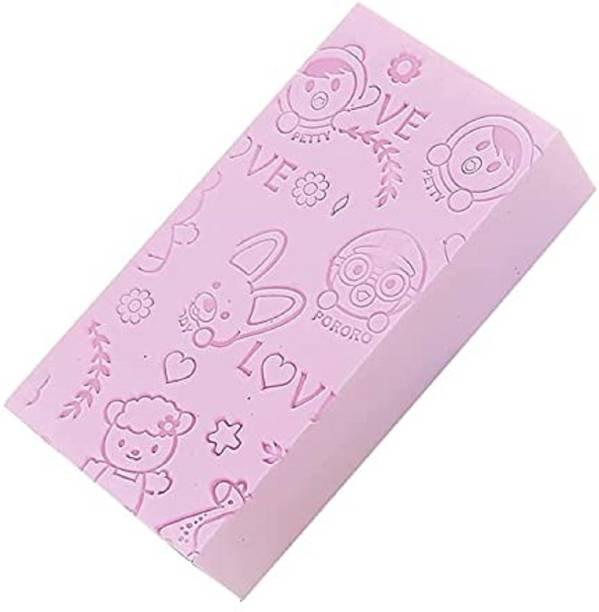 PRO99S Soft Exfoliating Sponge | Asian Bath Sponge For Shower | Japanese Spa Cellulite Massager | Dead Skin Remover Sponge For Body | Face Scrubber
