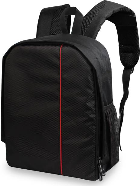 Flipkart SmartBuy Water Repellent DSLR Backpack Camera Bag, Lens Accessories Carry Case for All SLR Cameras  Camera Bag