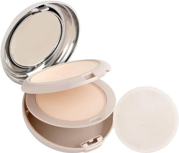 GULGLOW99 2In1 Collagen Perfect Glow BB Compact Light Beige Brighten Skin Pressed Powder Compact