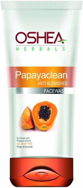 Oshea Herbals Papayaclean Anti Blemish , Orange, 80 g Face Wash