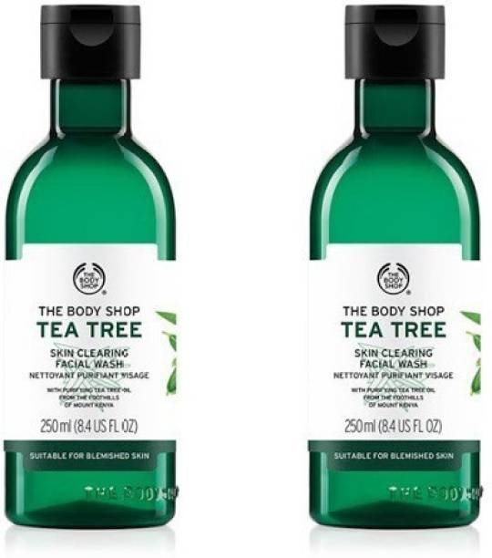 THE BODY SHOP Tea Tree Skin Clearing  Pack Of 2 Face Wash