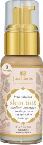Just Herbs Skin Tint- 0 - Porcelain Foundation