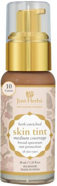 Just Herbs Herb enriched skin tint - 10- Cocoa Foundation
