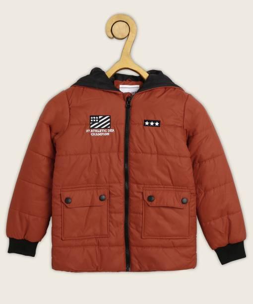 Miss & Chief Full Sleeve Solid Boys Jacket