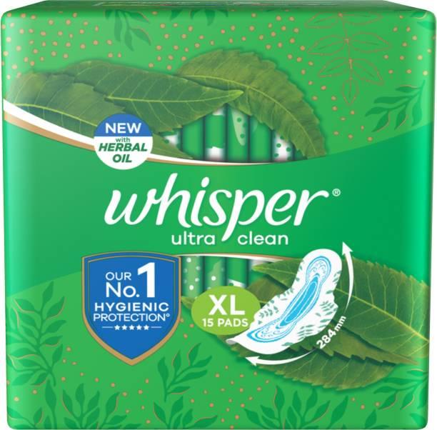 Whisper Ultra Clean XL Wings Sanitary Pad