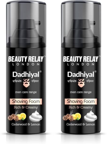 Beauty Relay London Dadhiyal Shaving Foam