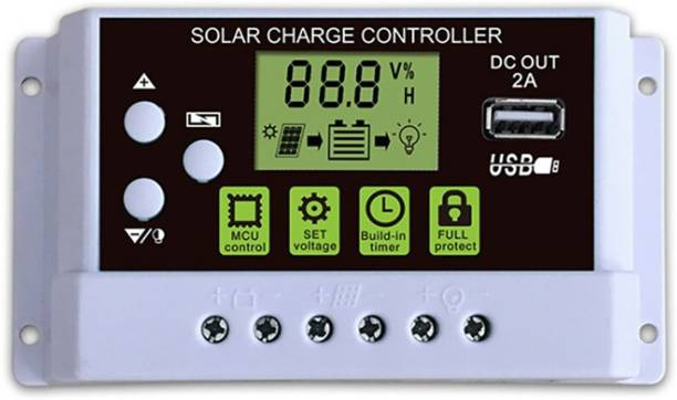amiciSmart 30A PWM Solar Charge Controller
