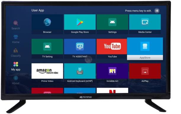 Micromax Smart LED TV 60 cm (24 inch) HD Ready LED Smart TV