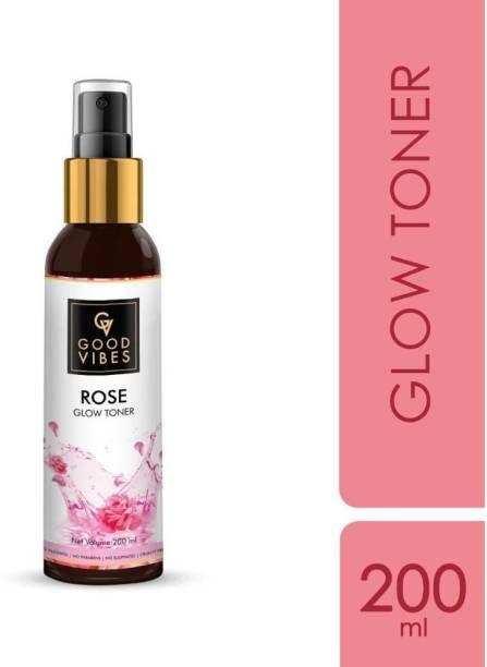 GOOD VIBES Rose Toner for Men & Women - 200 ml Men & Women