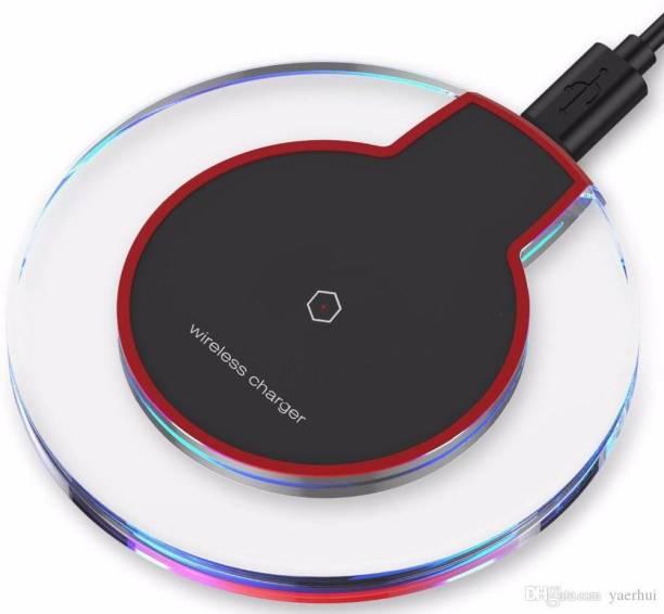 iVISION Qi Standard Ultra-Slim UFO Shape Crystal Clear Wireless Charging Pad