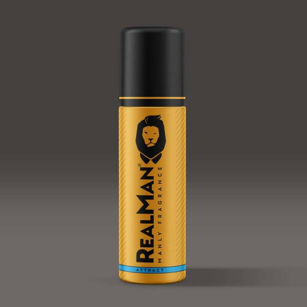 Real Man Attract Body Spray  -  For Men