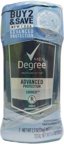Degree Men Antiperspirant Deodorant 2.7 Oz each Deodorant Cream  -  For Men