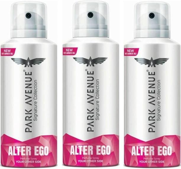 PARK AVENUE 3 Alter Ego Deodorant Spray  -  For Men