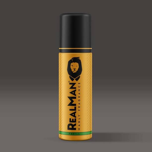 Real Man Thrill Body Spray  -  For Men