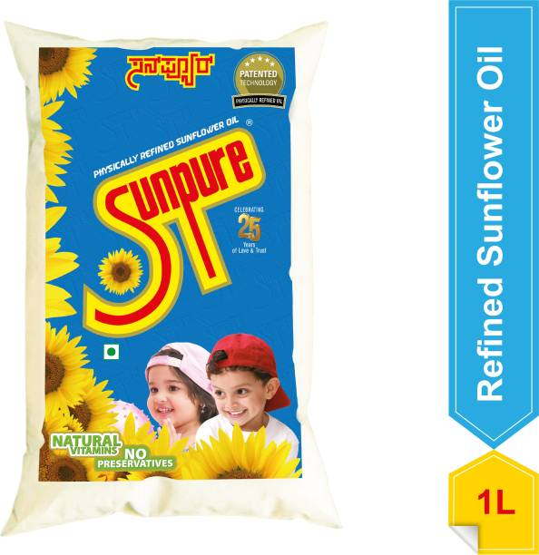 Sunpure Sunflower Oil Pouch