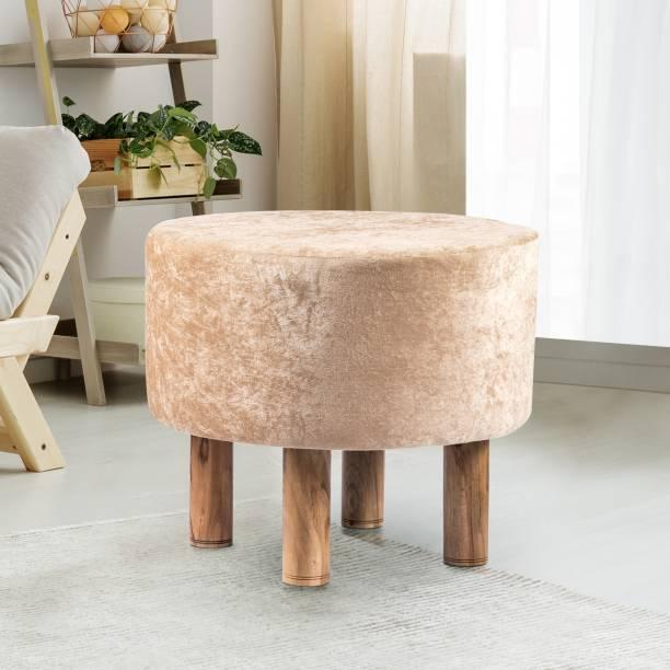 Ikiriya Solid Wood Standard Ottoman