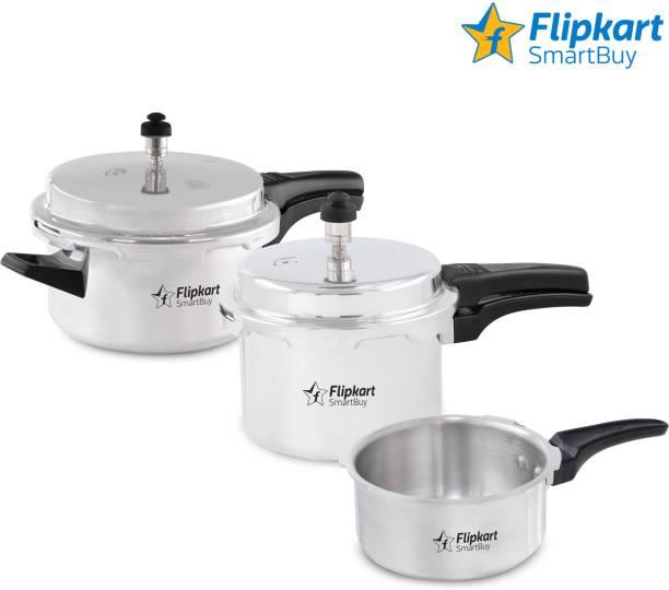 Flipkart SmartBuy Elite 2 L, 3 L, 5 L Induction Bottom Pressure Cooker