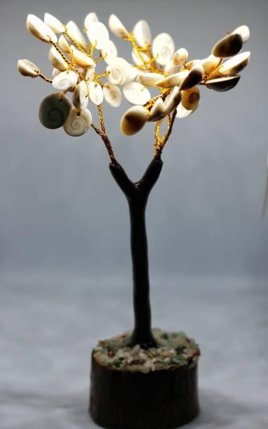 Vendhan Gomati Chakra Tree Handcrafted Seashell Lakshmi Pooja Religious Tile