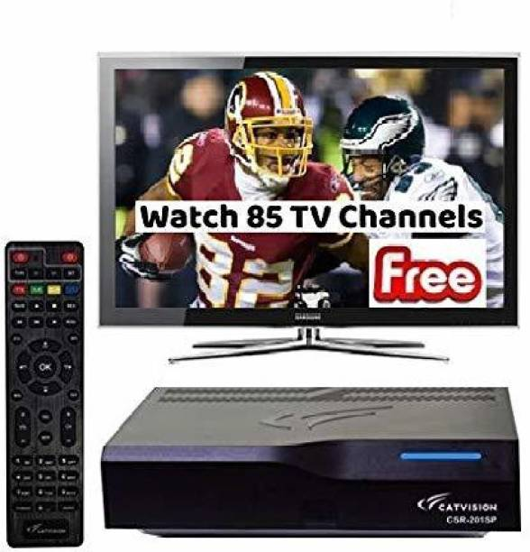 Catvision Doordarshan Freedish MPEG 2 Standard Definition Media Streaming Device