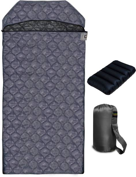 VERAKUDA Grey Diamond Light Weight Oversized Sleeping Bag