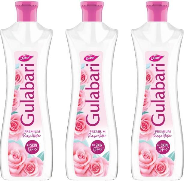 Dabur Gulabari Rose Water, 250 ml (Pack of 3) Men & Women