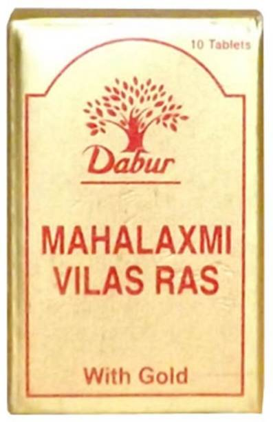Dabur MAHALAXMIVILAS RAS GOLD 10TAB