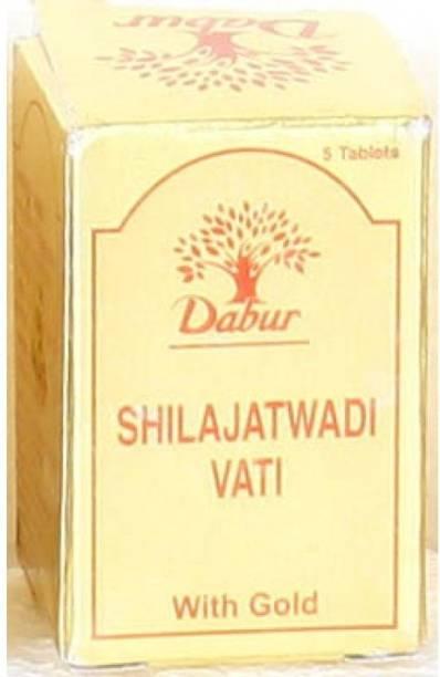 Dabur SHILAJATWADI VATI(GOLD)2GM 5TAB