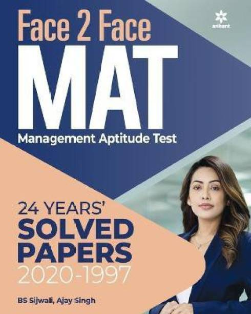 Face to Face Mat with 23 Years Solved Papers 2021
