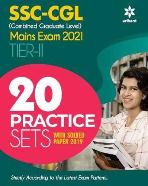 20 Practice Sets Ssc Combined Graduate Level Tier 2 Mains Exam 2021