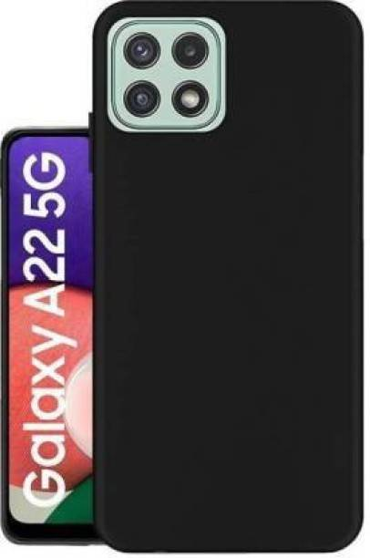 Chemforce Pouch for Samsung Galaxy A22 5G, Matte Finish Back cover